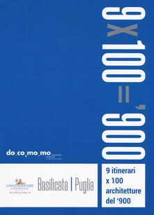 Rallydeicolliscaligeri.it 9 itinerari x 100 architetture del '900. Basilicata, Puglia Image