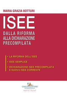 Librisulladiversita.it ISEE dalla riforma alla dichiarazione precompilata: La riforma dell'ISEE-ISEE semplice-Dichiarazione ISEE precompilata e nuovo ISEE corrente Image