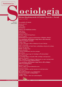 Some recent trends in United States methodology and general sociology