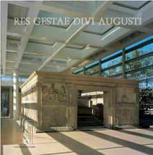 Res gestae divi Augusti - Orietta Rossini - ebook