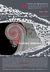 Quaderni PAU. Rivista semestrale del Dipartimento patrimonio architettonico e urbanistico dell'Università di Reggio Calabria vol. 35-36 (2008)