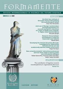 Formamente. Rivista internazionale sul futuro digitale (2009). Ediz. italiana e inglese vol. 3-4