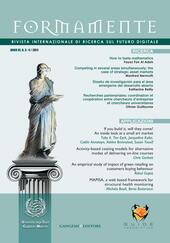 Formamente. Ricerca internazionale sul futuro digitale (2011). Ediz. italiana e inglese. Vol. 3-4