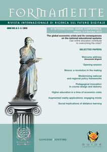 Formamente. Rivista internazionale sul futuro digitale (2013). Ediz. italiana e inglese vol. 3-4