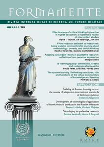 Formamente. Rivista internazionale sul futuro digitale (2014). Ediz. inglese vol. 1-2