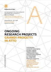 Grandi progetti in atto - ongoing research project. Ediz. italiana e inglese