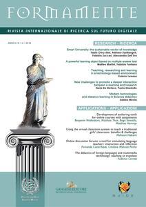 Formamente. Rivista internazionale sul futuro digitale. Ediz. italiana e inglese (2016). Vol. 1-2
