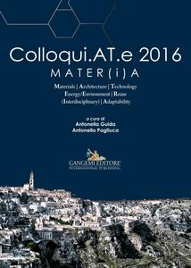Colloqui.AT.e 2016 Mater(i)a