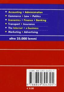 Business dizionario commerciale - 2