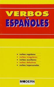 Verbos españoles - copertina
