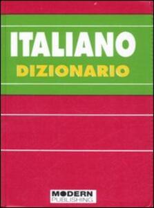 Italiano. Dizionario - Maristella Maggi,Fiorella Villa - copertina