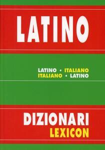 Dizionario latino-italiano - copertina