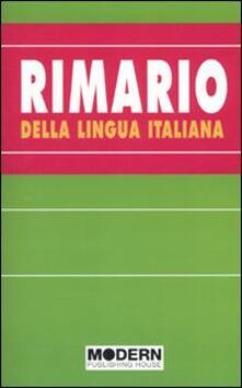 Atomicabionda-ilfilm.it Rimario della lingua italiana Image