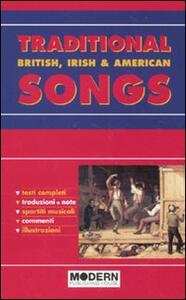 Traditional songs. British, irish & american - copertina