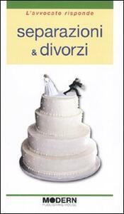 Separazioni & divorzi - Francesco Agostini,Luca Vandone - copertina