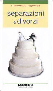 Libro Separazioni & divorzi Francesco Agostini , Luca Vandone