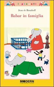 Babar in famiglia - Jean de Brunhoff - copertina