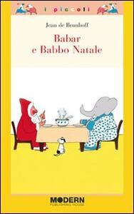 Babar e Babbo Natale - Jean de Brunhoff - copertina