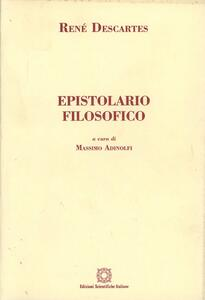Epistolario filosofico - Renato Cartesio - copertina
