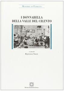 Libro I Donnabella della valle del Cilento (secoli XV-XIX). Memorie di famiglia