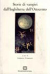 Storie di vampiri dall'Inghilterra dell'Ottocento - copertina