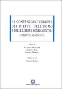 La convenzione europea dei diritti dell'uomo e delle libertà fondamentali commentata ed annotata - copertina