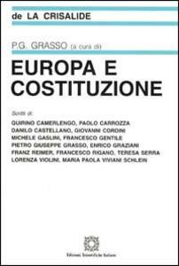 Europa e costituzione - copertina