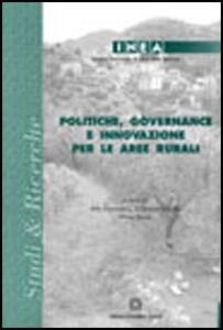 Politiche, governance e innovazione per le aree rurali - copertina