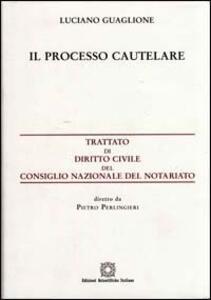 Processo cautelare - Luciano Guaglione - copertina