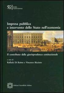 Impresa pubblica e intervento dello stato nell'economia - copertina