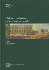 Diritto ecclesiastico e Corte costituzionale - copertina