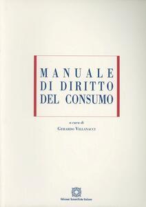 Manuale di diritto del consumo - copertina