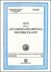 Atti della Accademia Peloritana dei Pericolani. Vol. 76