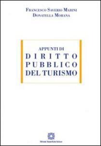 Appunti di diritto pubblico del turismo - copertina