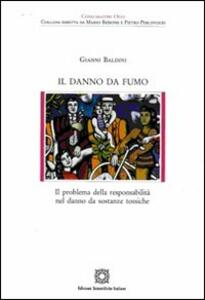 Il danno da fumo - Gianni Baldini - copertina