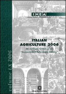 Italian agricolture 2006. Vol. 60 - copertina