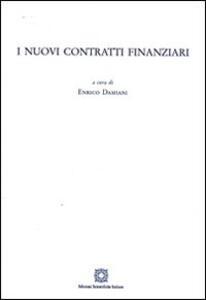 I nuovi contratti finanziari - copertina