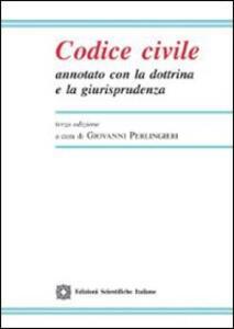 Codice civile annotato con la dottrina e la giurisprudenza. Con CD-ROM - copertina