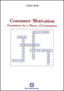Consumer motivation - Carlo Mari - copertina