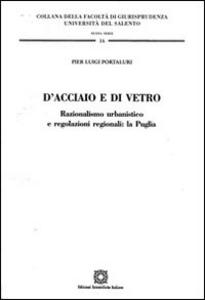 Libro D'acciaio e di vetro P. Luigi Portaluri