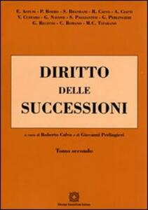 Diritto delle successioni. Vol. 2