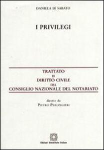 Libro I privilegi Daniela Di Sabato