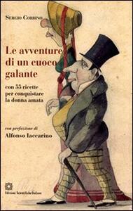 Le avventure di un cuoco galante - Sergio Corbino - copertina