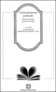 Foto Cover di Letterariamente parlando, Libro di  edito da Edizioni Scientifiche Italiane