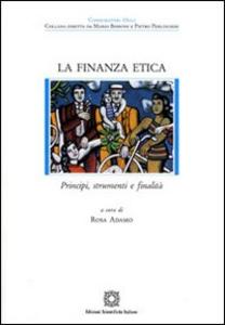 Libro La finanza etica