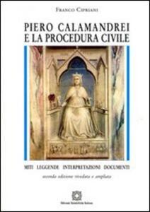 Piero Calamandrei e la procedura civile - Franco Cipriani - copertina