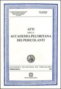 Atti dell'Accademia Peloritana dei Pericolanti. Classe di scienze giuridiche, economiche e politiche. Vol. 77