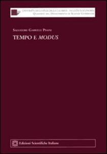 Tempo e modus - Salvatore G. Pisani - copertina