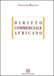 Diritto commerciale africano - Salvatore Mancuso - copertina