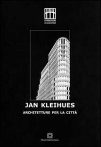 Jan Kleihues. Architetture per la città - copertina